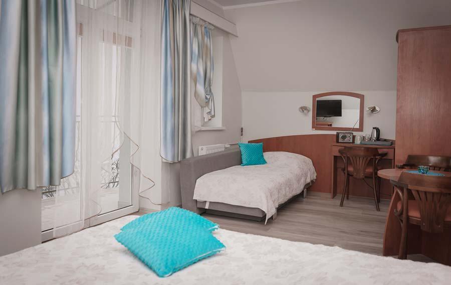 Pokój trzyosobowy - Hotel Cis Świnoujście